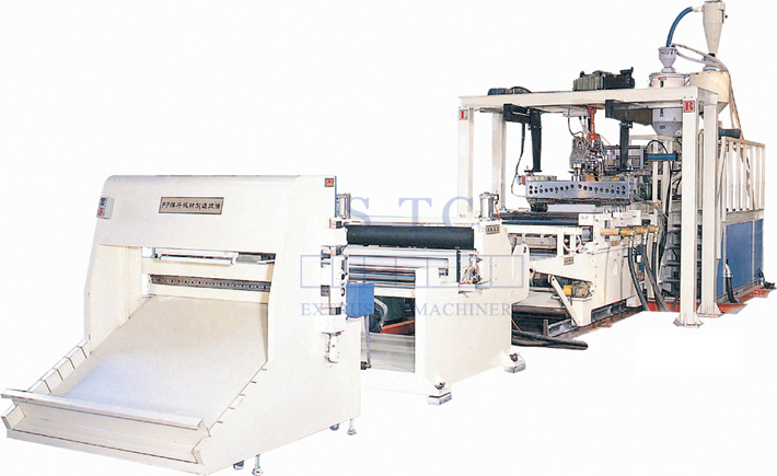 125 PP Stationery Sheet Extrusion Line
