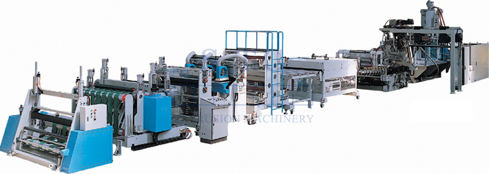 133 PC Sheet Extrusion Line