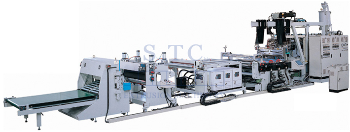 137 PP Sheet Extrusion Line