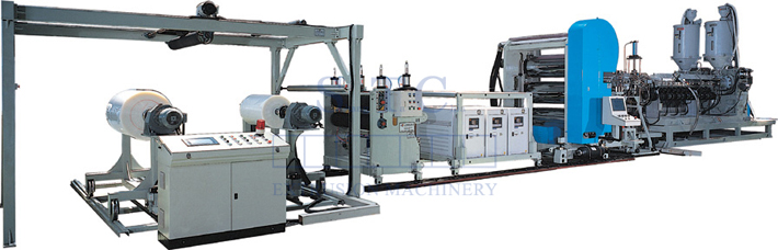 158 PP/PS Sheet Extrusion Line