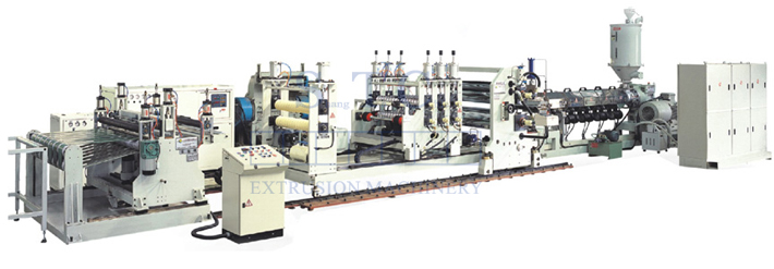 268 PP Corrugated Sheet Extrusion Line