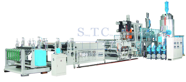 295 PC/ABS/PMMA Sheet Co-Extrusion Line
