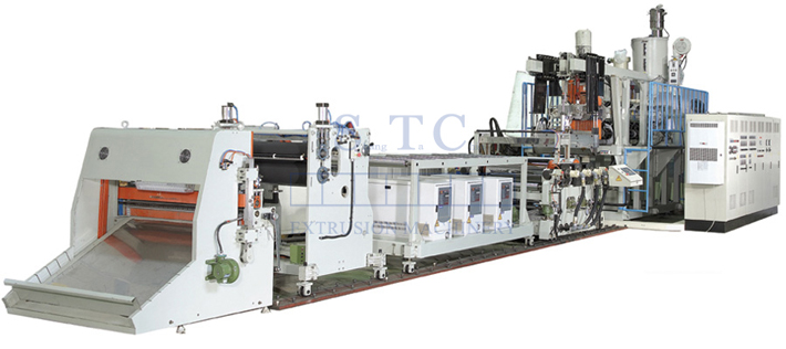 317 PP/PS Sheet Extrusion Line
