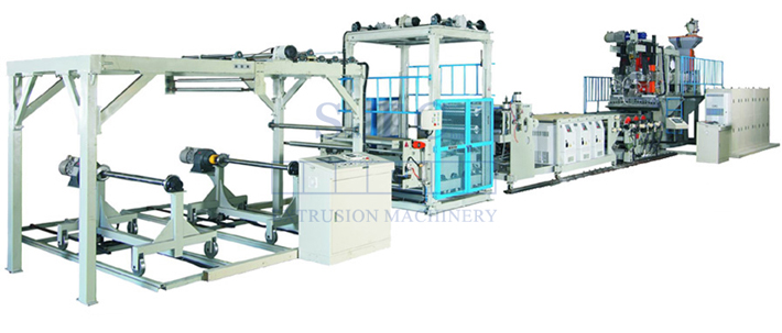331 PP/PS Sheet Co-Extrusion Line