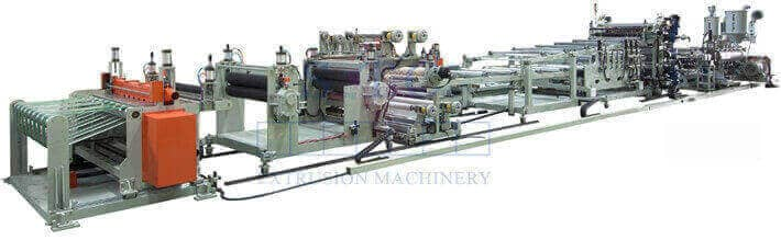 351 PC Corrugated Sheet Co-Extrusion Line