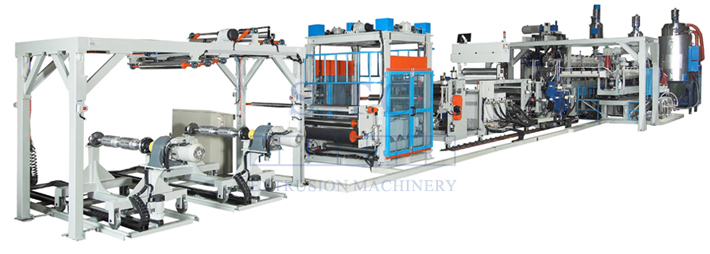 370 PET/PLA/PS Sheet Co-Extrusion Line