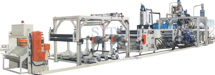 372 PET/PLA Sheet Extrusion Line