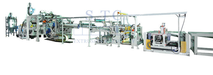 511 PC/PMMA Sheet Co-Extrusion Line