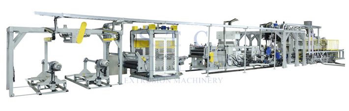 536 PET Sheet Twin Screw Extrusion Line (Twin Screw)