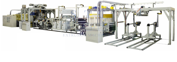 559 PET Sheet Twin Screw Co-Extrusion Line (Twin Screw)