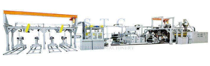 560 PET Sheet Twin Screw Extrusion Line (Twin Screw)